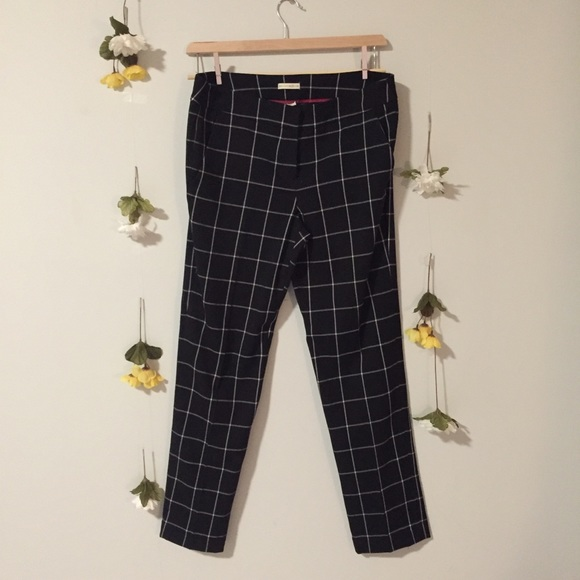 Black Plaid Pants - Mercer & Madison